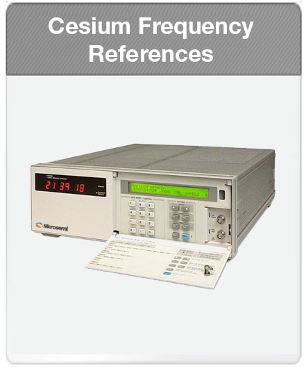 Microsemi | Cesium Frequency References