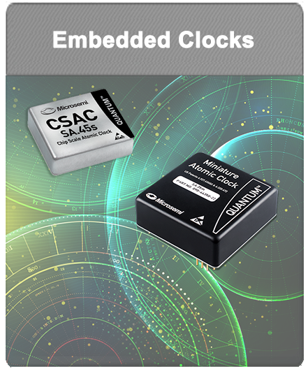 Microsemi | Embedded Atomic Clocks