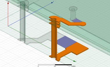 HFSS 3D track Simulation