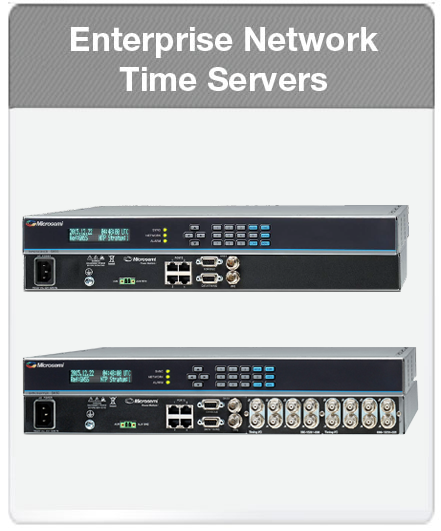 Enterprise Network Time Servers