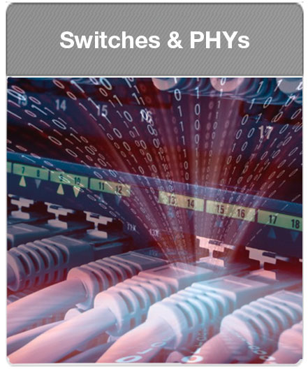 Microsemi | Ethernet Switches and PHYs with IEEE1588 and SyncE