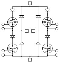 Full Bridge + Series FRED and SiC Parallel Diodes