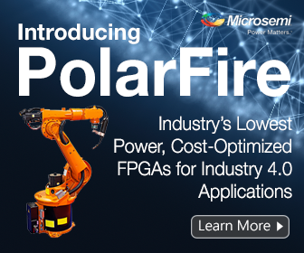 Lowest power, cost-optimized, mid-range FPGA for Industry 4.0 applications | Microsemi