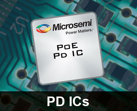 Power over Ethernet (PoE) PD ICs | Microsemi