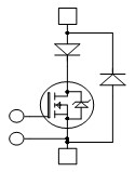 Single Switch + Series FRED and SiC Parallel Diodes