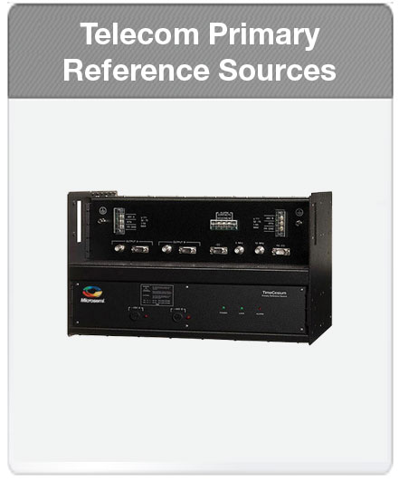 Microsemi | Telecom Primary Reference Sources