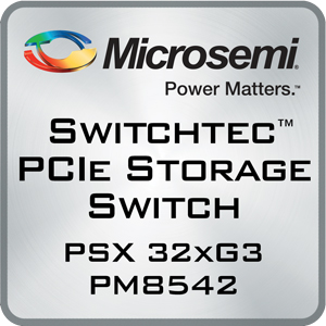 SPSS-PM8542, Switchtec PSX PCIe Storage Switches, PCIe switches, SSD controllers | Microsemi