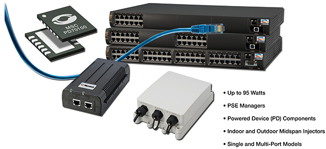 Power over Ethernet PoE for broadband home CPE | Microsemi
