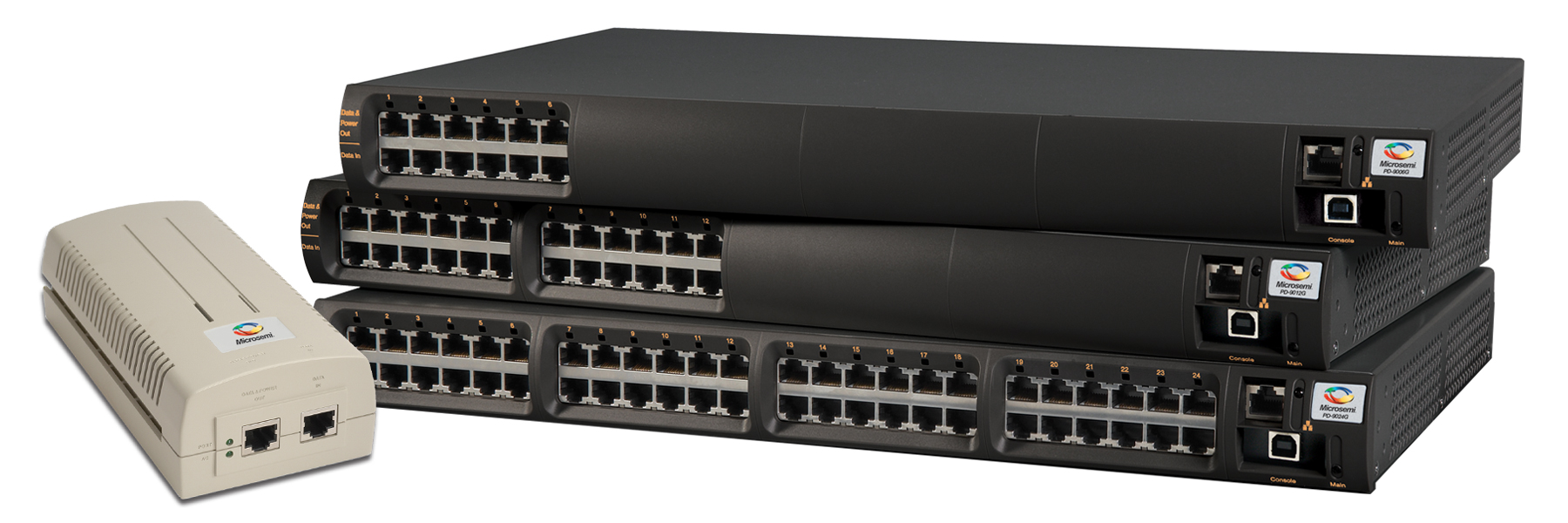 Power over Ethernet PoE switch PoE switches | Microsemi