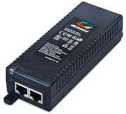 PD-9001GR/AC 1-port 802.3at PoE+ Midspan Injector