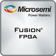 Fusion Mixed-Signal FPGA - Flash Family of field programmable gate array devices with analog