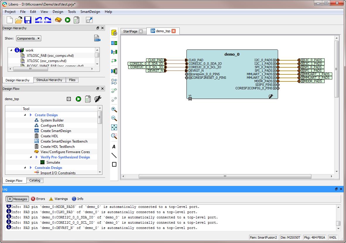 Libero Soc Design Software Microsemi